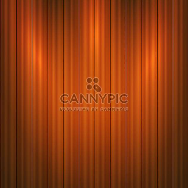 Vector illustration of brown wooden background - Free vector #125922
