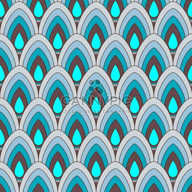 Vektor-abstrakt mit muster Ornament blau - Kostenloses vector #125962