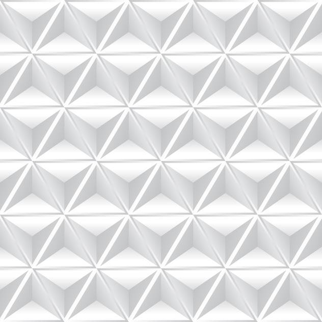 vector illustration of abstract geometric background with white cubes - vector #126132 gratis