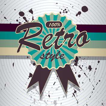 Vector colorful retro background with spray paint signs - vector #126392 gratis