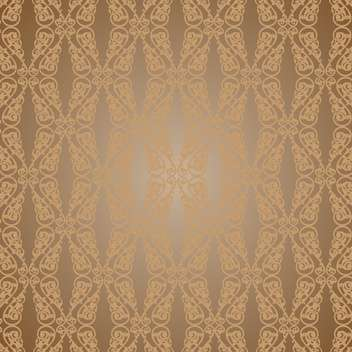 Vector vintage art background with seamless floral pattern - бесплатный vector #126802