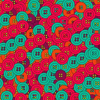 Vector background with colorful beautiful buttons - Free vector #126942