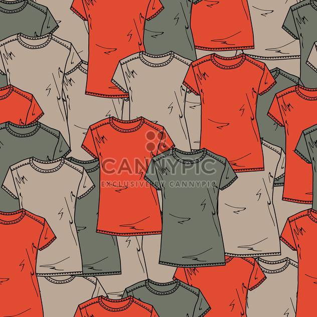 colorful vector background with male shirts - Free vector #128012