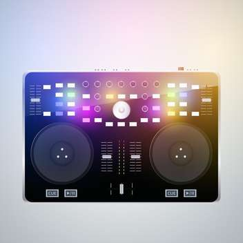 Mixing desk production sound - vector gratuit #128152