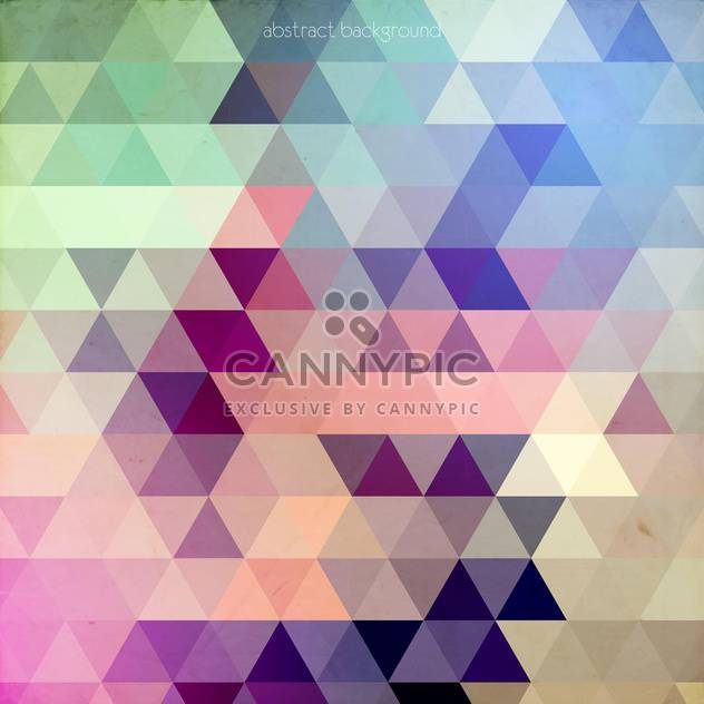 Abstract Vector Colorful Geometric Background - Free vector #128732