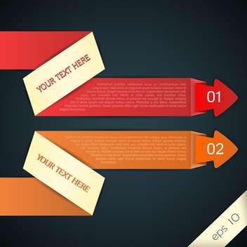 vector web arrows for text - Free vector #129152