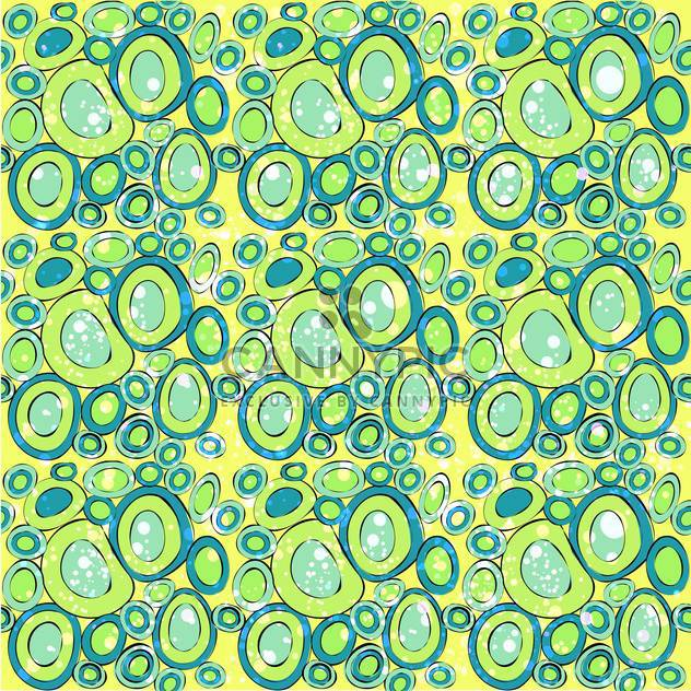 Abstract yellow background with green circles - Free vector #130042