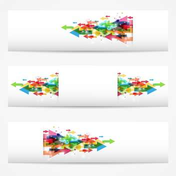 vector business banners set - Kostenloses vector #130272
