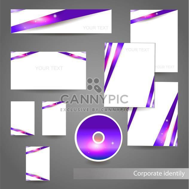 Professionelle Unternehmensidentität kit - Free vector #131162
