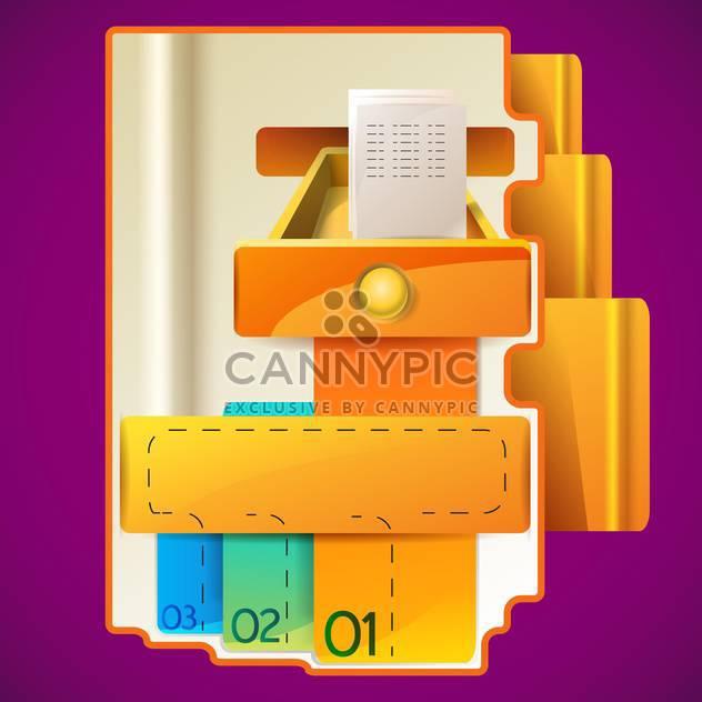 Modern Web Design Vorlage Abbildung - Kostenloses vector #131292