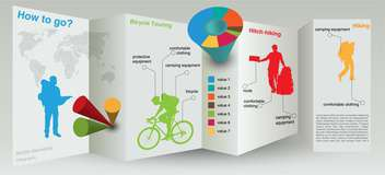 Vector infographic elements illustration - Free vector #131762