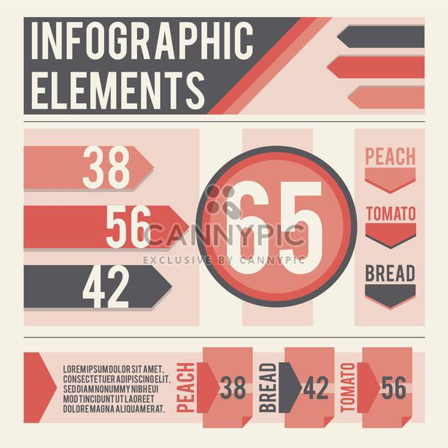 business infographic elements set - Free vector #133012