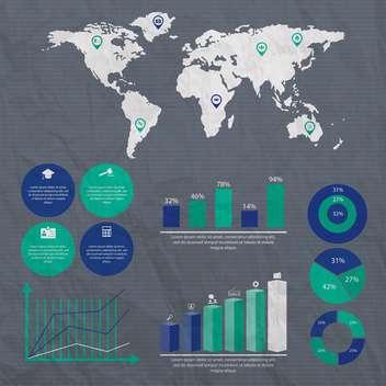 business infographic elements set - Kostenloses vector #133052