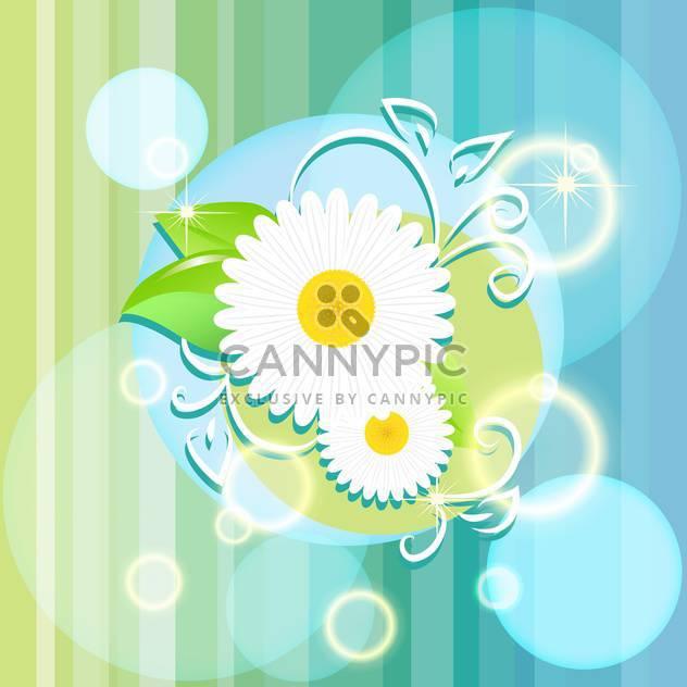 Vektor floral Sommer background - Kostenloses vector #133222