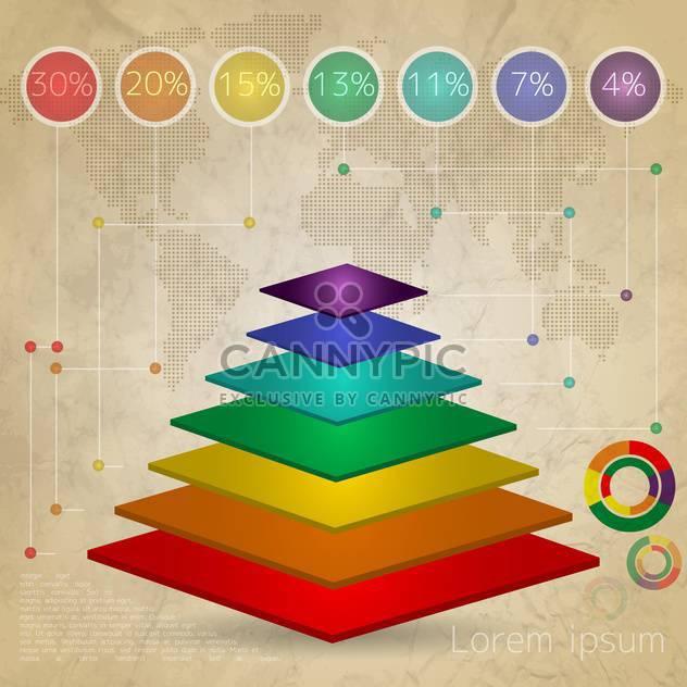 Vektorelemente der Geschäft Infografiken - Kostenloses vector #133502