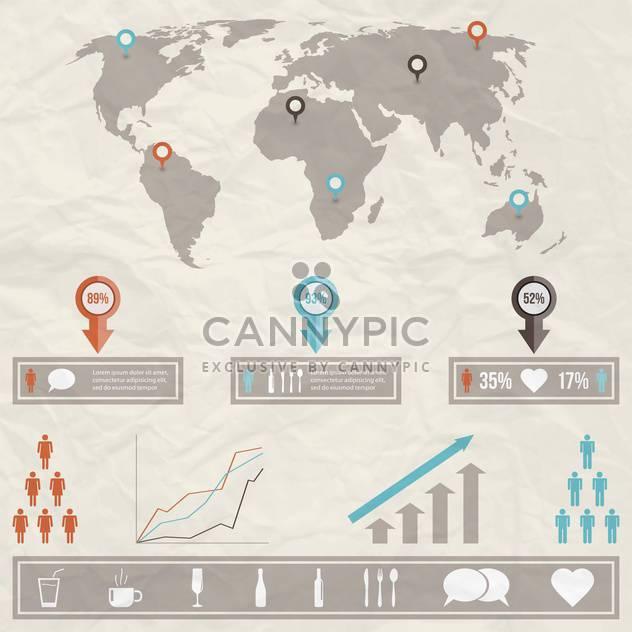 Geschäft Infographik Elemente - Kostenloses vector #133532