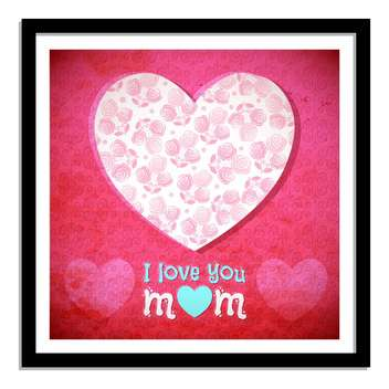 vector mother's day card - vector #133862 gratis