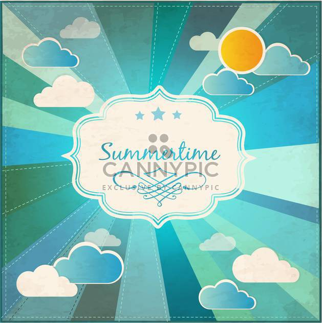 summer grunge textured background - Free vector #133912
