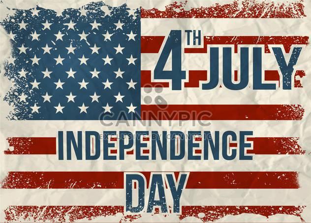 amerikanischen Unabhängigkeitstag-Hintergrund - Kostenloses vector #134032