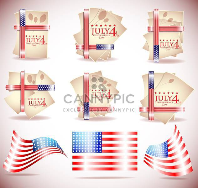 corporate identity template background - Free vector #134142