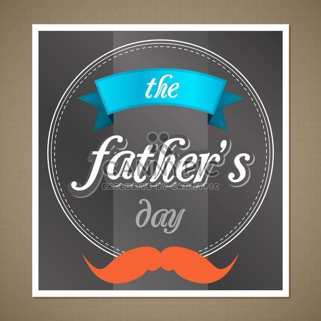 glückliche Vater-Tag-banner - Free vector #134352