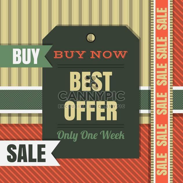 qualitativ hochwertige Verkauf Etiketten und Schilder - Free vector #134422