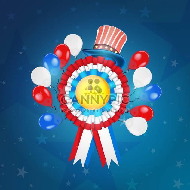 amerikanischen Unabhängigkeitstag-Symbole - Free vector #134532