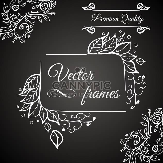 Retro-Frame-Premium-Qualität - Free vector #134562