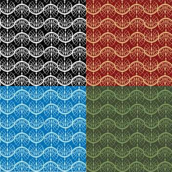 abstract seamless vector pattern - Free vector #134922
