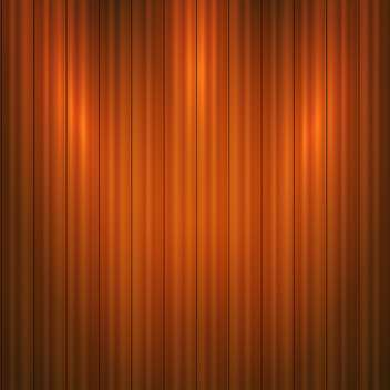 Vector illustration of brown wooden background - vector gratuit #125922
