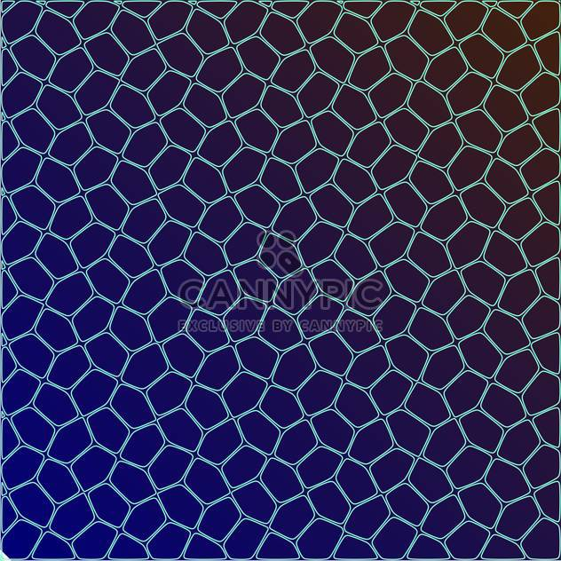 Vector illustration of abstract geometric dark blue background - Free vector #126042