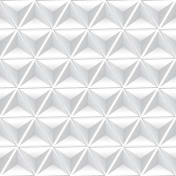vector illustration of abstract geometric background with white cubes - Free vector #126132