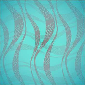 Vector waves abstract blue color background - vector gratuit #126442