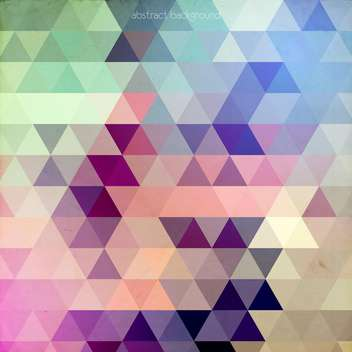 Abstract Vector Colorful Geometric Background - Kostenloses vector #128732