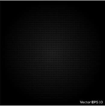 Vector abstract black dotted metal background - Free vector #128912