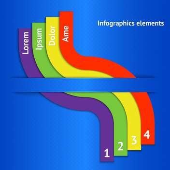 colorful business background with numbers - Free vector #130262