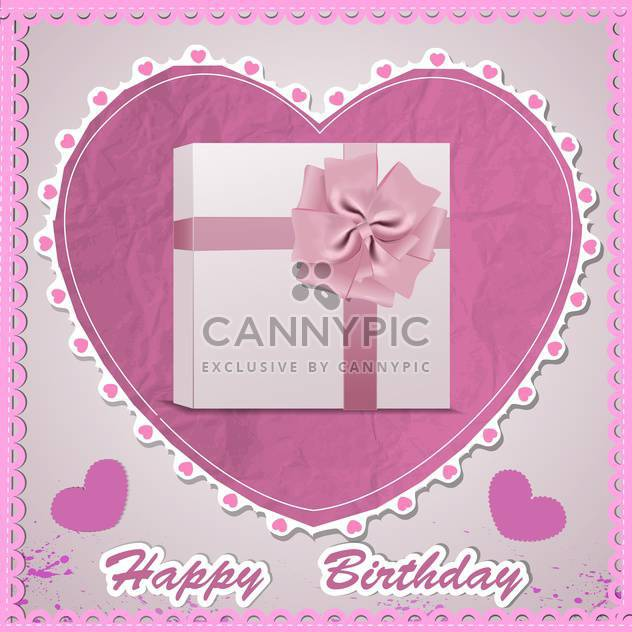 happy birthday card background - Free vector #130482