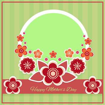 Happy mother day background - vector gratuit #130572