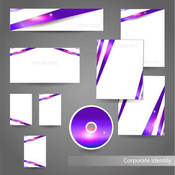 Professional corporate identity kit - Kostenloses vector #131162