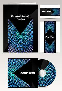 Set of templates corporate identity - vector gratuit #131252