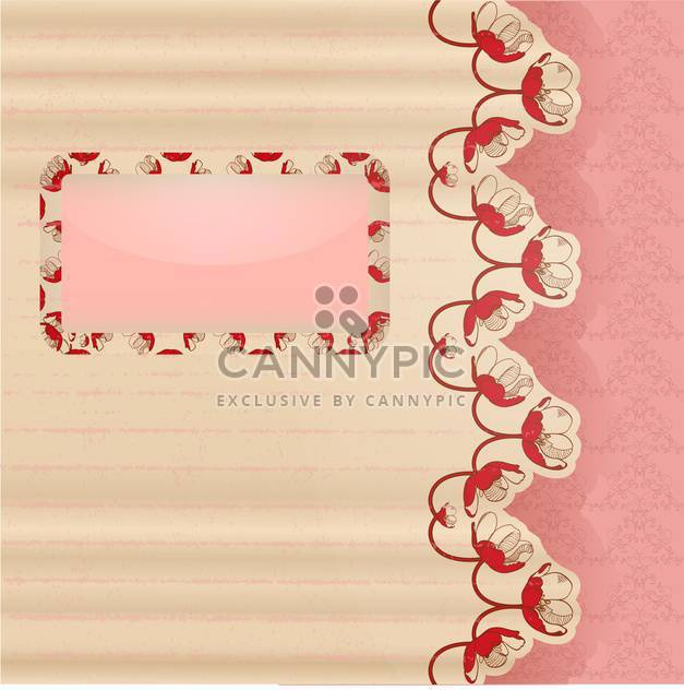 scrapbook template vector illustration - Free vector #132652