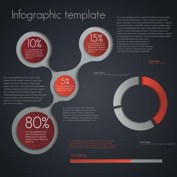 business infographic elements set - vector gratuit #133282