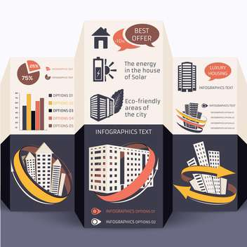 elements of business infographics set - vector #133472 gratis