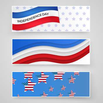 american independence day background - vector gratuit #133892