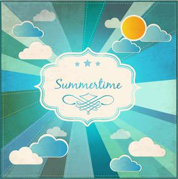 summer grunge textured background - vector gratuit #133912