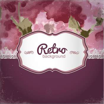 retro invitation holiday frame - vector gratuit #133932