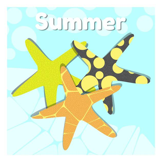 summer holiday vector background - vector #134092 gratis