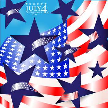 usa independence day illustration - vector #134152 gratis