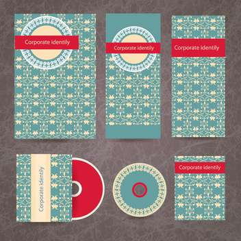 corporate labels business design set - Kostenloses vector #134212