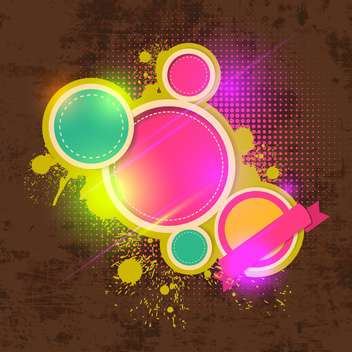 abstract vector colorful background - vector gratuit #134292